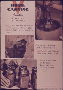 50s Canning Instructions