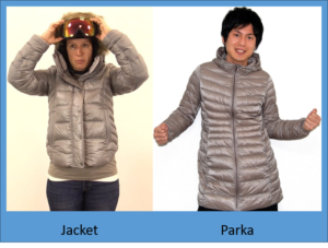 Jacket Vs Parka