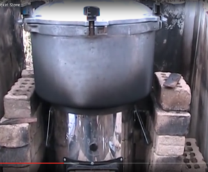 Canning With A Rocket Stove