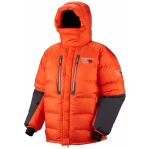 Mountain Hardwear Mens Absolute Zero Down Parka Hood up
